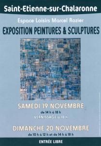 exposition saint Etienne sur Chalaronne